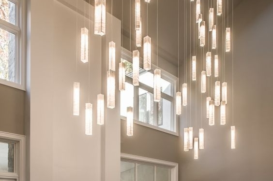 Modern high ceiling lighting