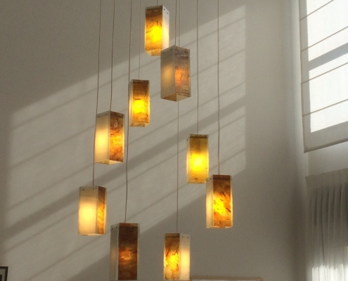 Foyer lighting Drops