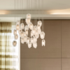 Staiedn glass vintage chandelier