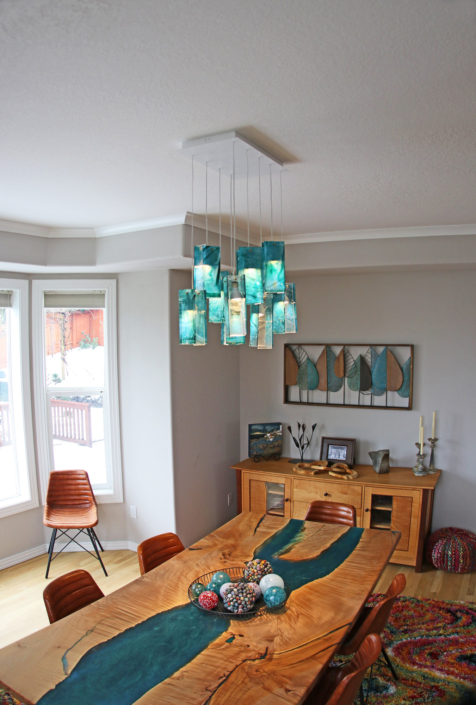 hanging light for dining table