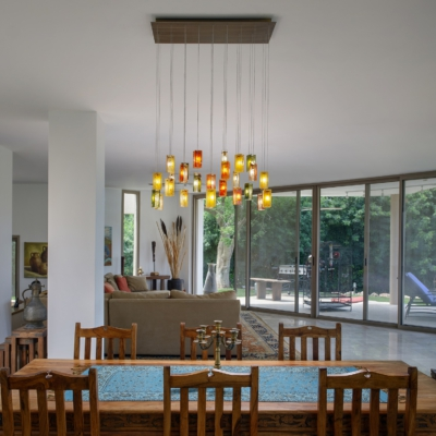 Farmhouse chandelier lighting for dining table