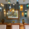 Hanging ceiling light for home decor