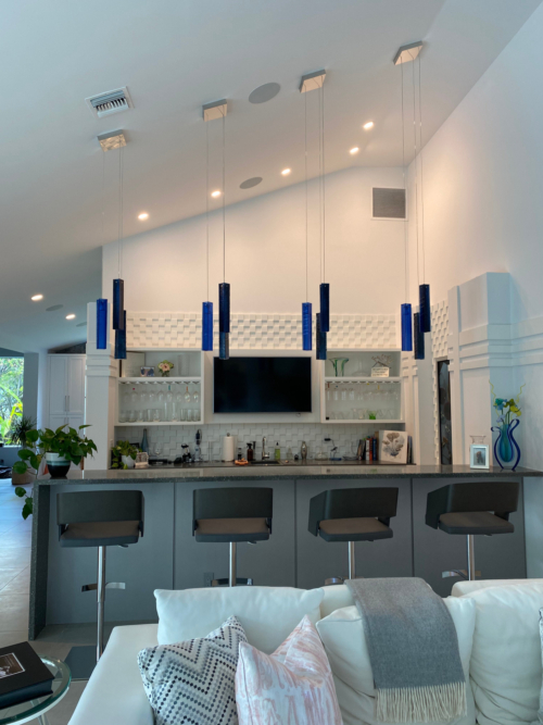 Ceiling light for kitchen island